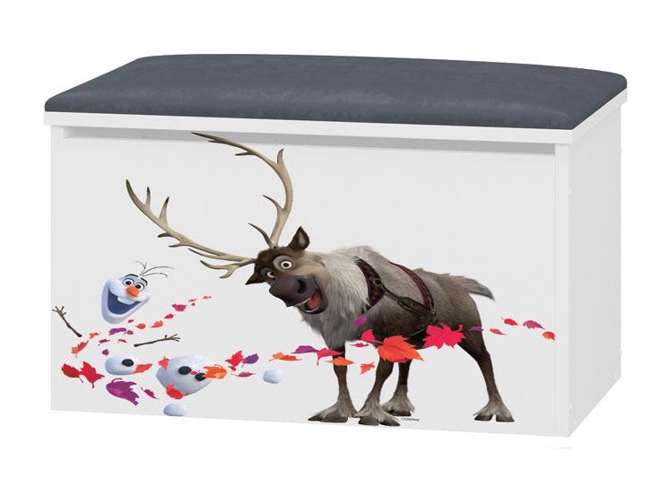 Tapicrowany pojemnik na zabawki Frozen