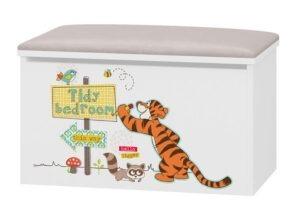 tapicerowany pojemnik Tygrysek