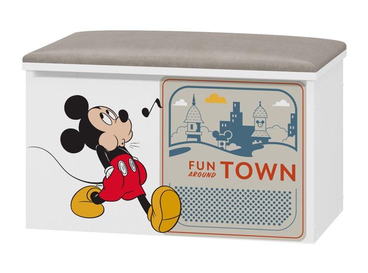 Tapicerowany pojemnik na zabawki Disney